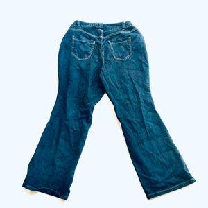 Lane Bryant Jeans - Lane Bryant Distinctively Boot Plus Size 14 Petite
